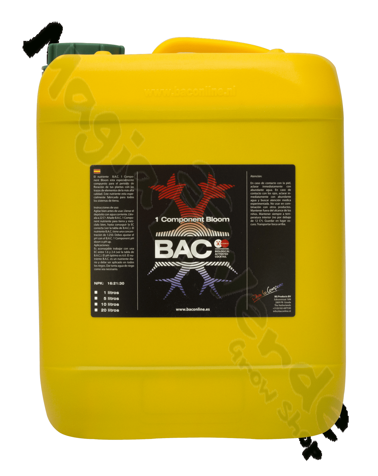 BAC One Component Bloom 10 L