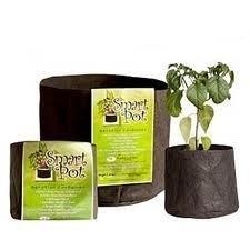 Maceta Smart Pot Negra 60 L
