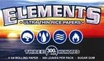 Papel de Fumar Elements 1/4 300 uds
