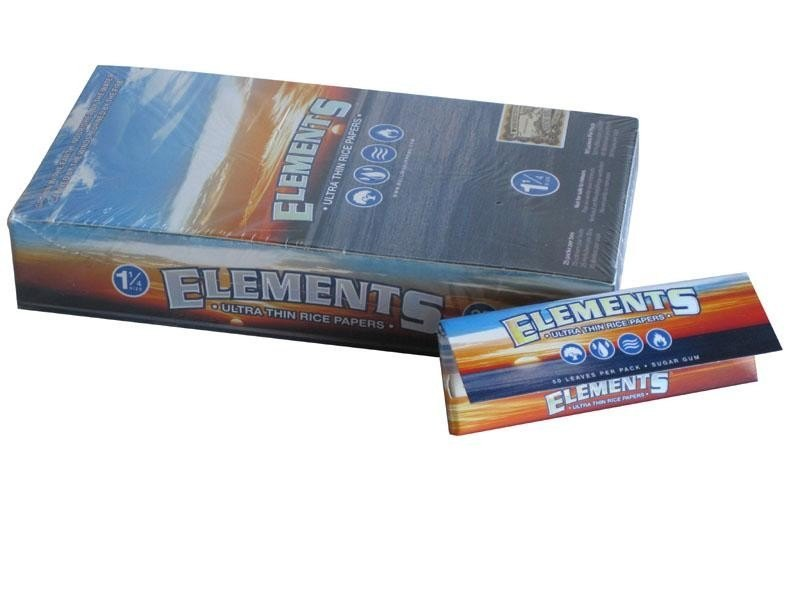 Papel de Fumar Elements 1/4 50 uds