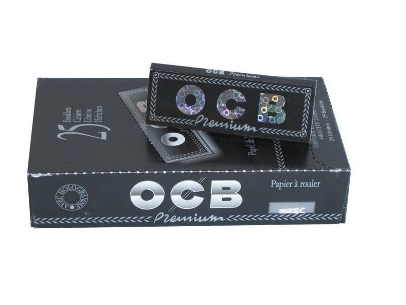 Papel de Fumar OCB Premium 1/4 50 uds