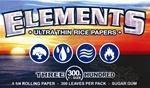 Papel de Fumar Elements 1/4 300 uds