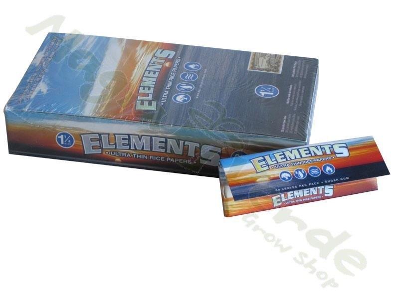 Papel de Fumar Elements 1/4 50 uds