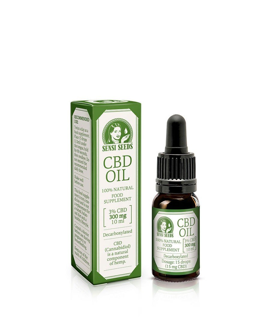 Aceite de CBD 3% 10ml Sensi Seeds