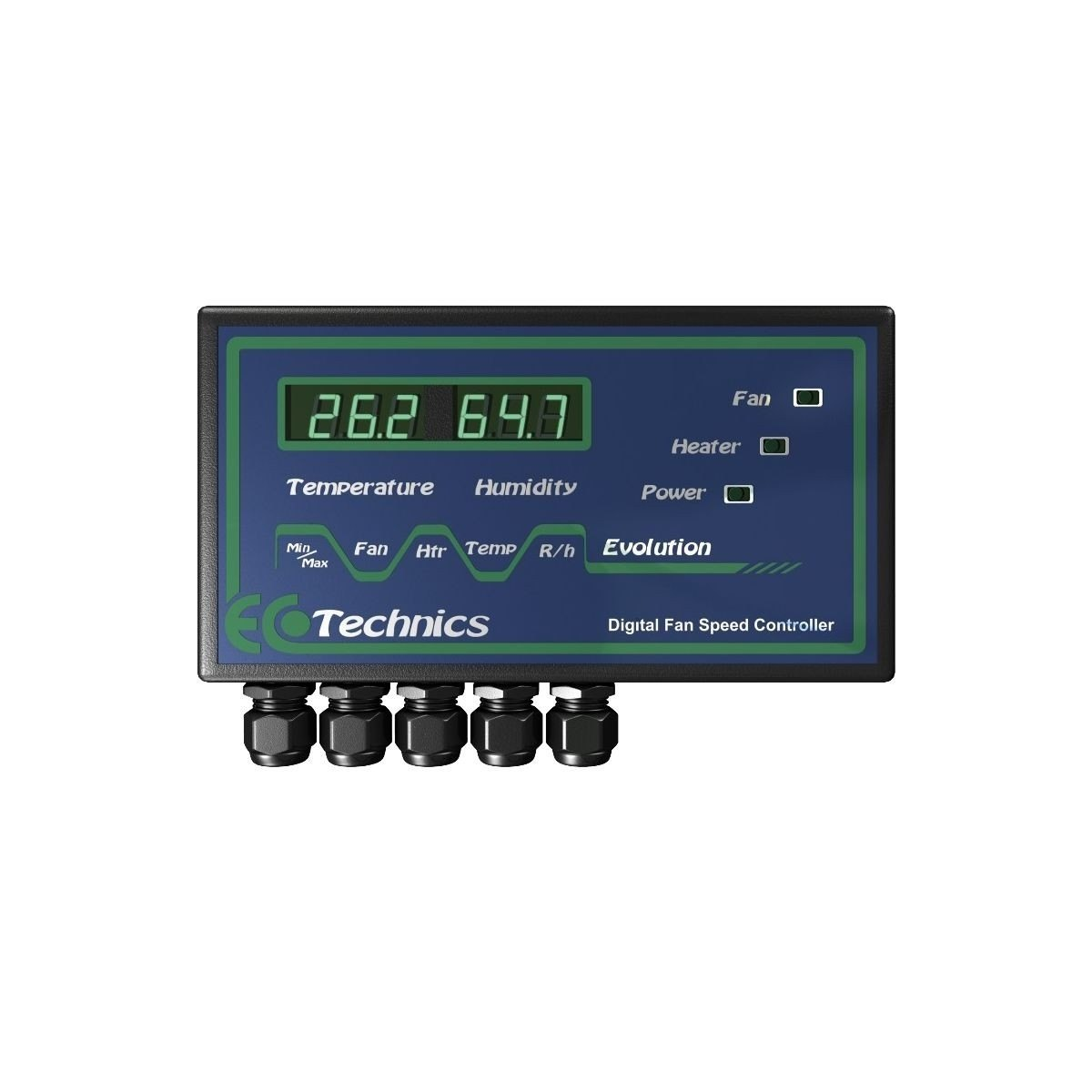 Controlador Evolution Fan Controller Temperatura&Humedad EcoTechnics