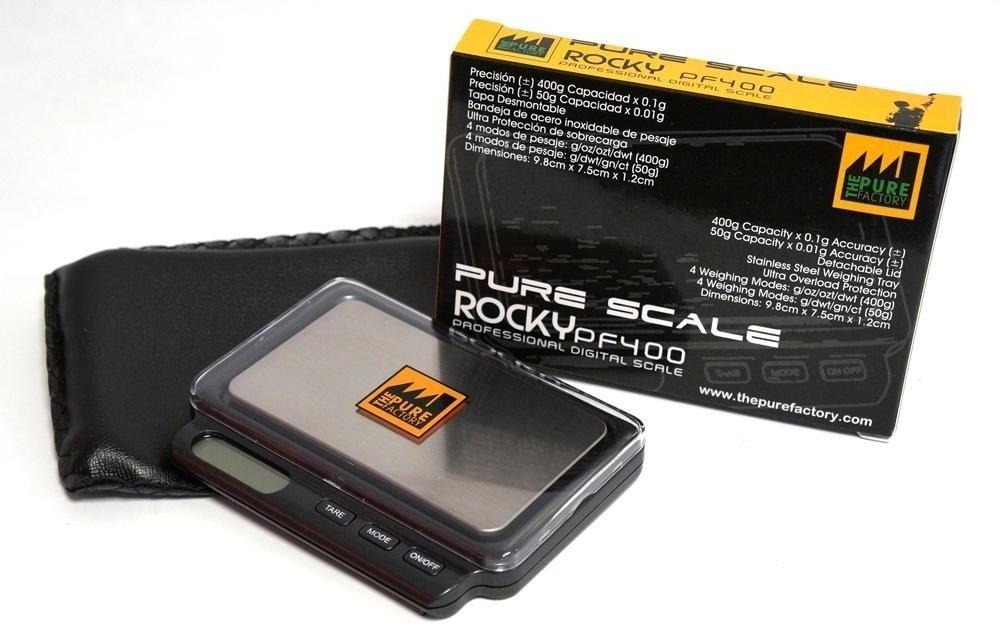 Bascula Pure Scale Rocky 400 x 0.1 g