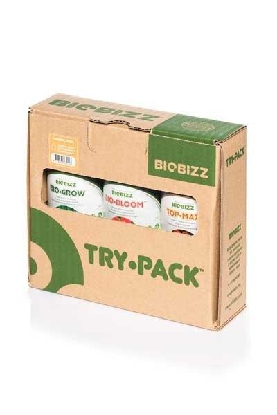 Bio Bizz Try Pack Indoor Kit Fertilizantes cultivo interior