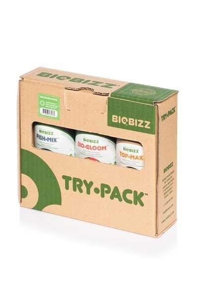 Bio Bizz Try Pack Outdoor Kit Fertilizantes Exterior