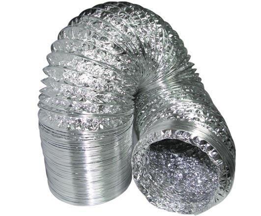 Tubo flexible de conexion Aluconnet 102 mm