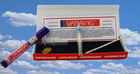 Vaporizador portatil VapBong - Rotulador