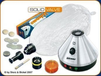 Vaporizador Volcano Classic con Solid Valve