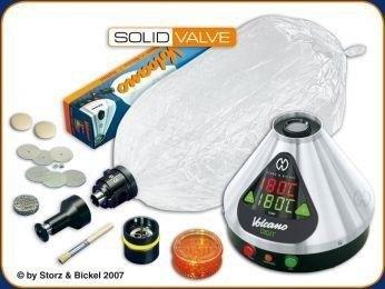 Vaporizador Volcano Digital con Solid Valve