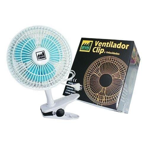 Ventilador Clip 15 cms Pure Factory